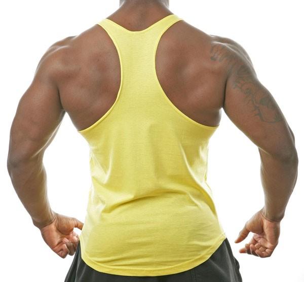 2016 Hot Sale Custom mens Gym muscle singlet