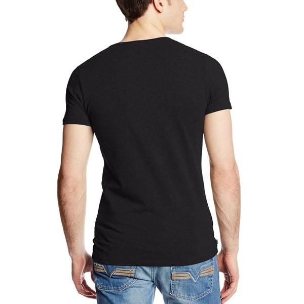 Oem v neck round neck t shirt with custom design for T shirt design v neck