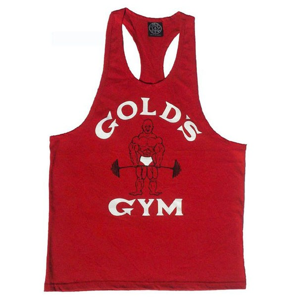 Special Pre-sales cumstom golds mens gym singlets