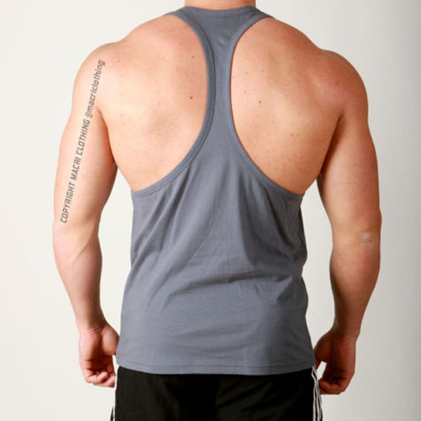 wholesale blank gym stringer vest manufacturer
