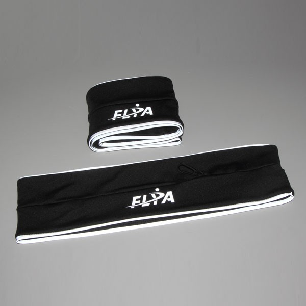 Outdoors Runners Belt with reflective piping