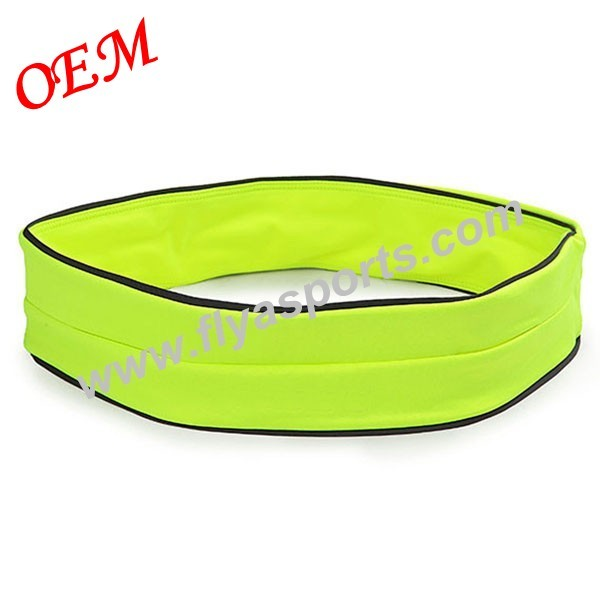 China manufacturer supply sport elastic waist bag